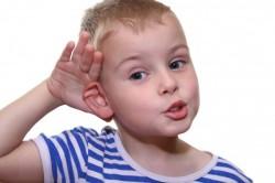 Снижение остроты слуха при аденоидах