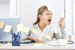 Стресс - причина появления язвочек в горле