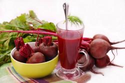 Свекольный сок для лечения горла