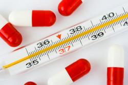 Повышение температуры тела при фарингите