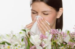Аллергия - причина фарингита