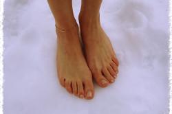 Закаливание ног