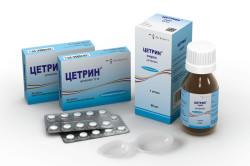 Цетрин для лечения лакунарной ангины