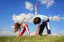 Активные занятия спортом для профилактики аденоидов