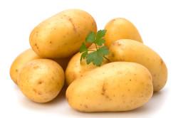 Отварной картофель для компресса при ангине