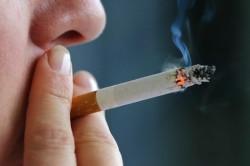 Курение - причина острого фарингита