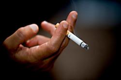 Курение - причина фарингита