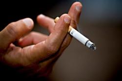 Вред курения при ангине