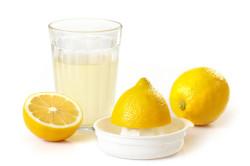 Лимонный сок для полоскания горла при ангине