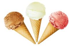Мороженое при ангине