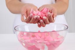 Отвар из розовых лепестков для лечения гнойной ангины