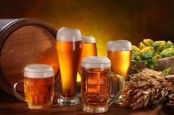 Польза пива для горла