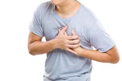 Боль в области сердца при гнойной ангине