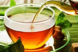 Травяные чаи при першении в горле