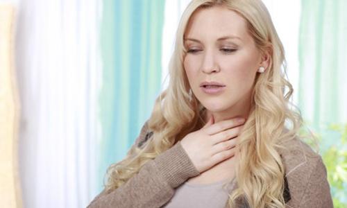 Проблема в горле при сухом кашле
