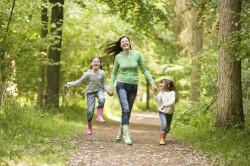 Прогулки - профилактика ангины