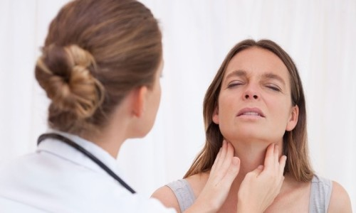 Возникновение шишки в горле