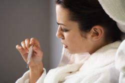 Высокая температура - показание для назначения антибиотиков